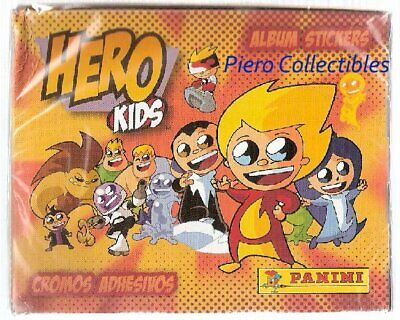 Hero Kids Box 50 Bustine Figurine Panini