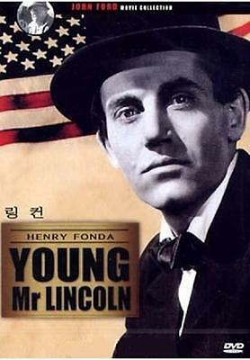 Young Mr. Lincoln (1939) DVD - Henry Fonda (New & Sealed)