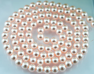 *180pcs Beads 4mm Light Pink//Rosaline Imitation Loose Acrylic Round Pearl Spacer