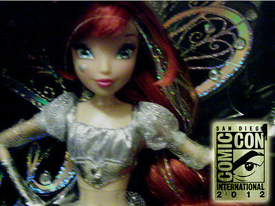 SDCC 2012 Exclusive Winx Club SILVER Believix Bloom Fairy Doll SOLD OUT #297/510