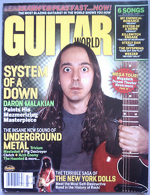 Guitar World Magazine July 2005 System Of A Down