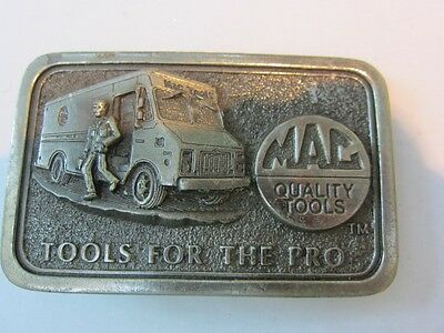 Belt Buckle Vintage,Pewter Limited Edition MAC Tools 3rd in Series Figural Truck