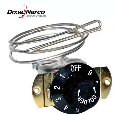 Replacement thermostat, brand new, fits Pepsi Machines, Coke Machine Dixie Narco