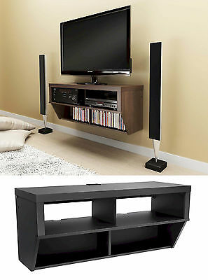 "42"" Wall Mounted Entertainment Console LCD/LED TV Stand w/AV Shelves NEW"