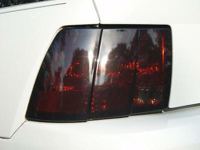 99-04 Ford Mustang Smoke Tail Light Precut Tint Cover Smoked Overlays