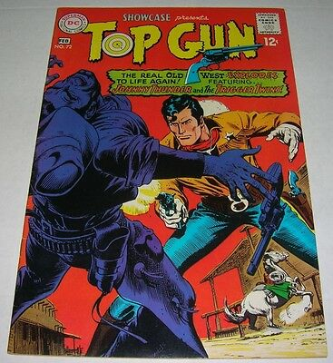 SHOWCASE #72 (1968) TOP GUN (Johnny Thunder) Toth art! Russ Heath cvr (VF-) NICE