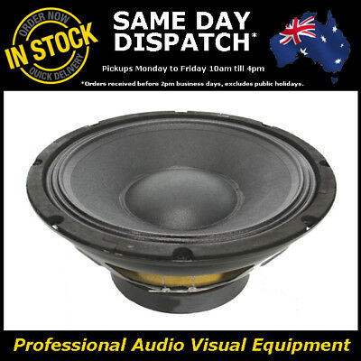 "10"" 200WRMS 4 Ohms PA DJ Speaker Subwoofer Sub Driver 10 Inch Quality Woofer"