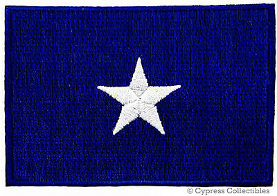 BONNIE BLUE FLAG PATCH TEXAS STAR SOUTHERN FLORIDA REPUBLIC embroidered iron-on
