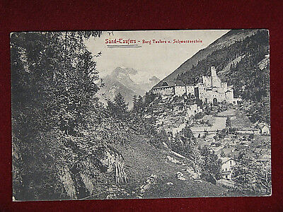 Campo Tures/Sand in Taufers - Burg Taufers ...- viaggiata,1908 #14497
