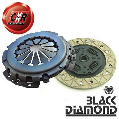 VW Golf Mk2 1.0L (To Chassis G160000) Black Diamond Stage 2 Clutch