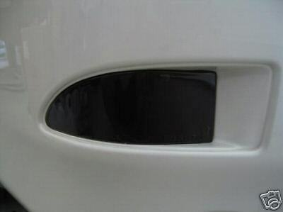 06-13 Lexus Is250 Is350 Smoke Rear Reflector Tint Cover Smoked Overlays