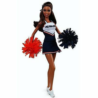 BARBIE COLLECTOR AUBURN UNIVERSITY AU TIGERS AA 2012 *Nu*