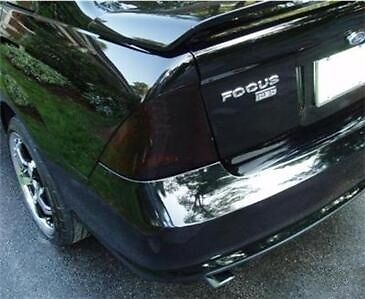 05-07 Ford Focus Zx4 Smoke Tail Light Precut Tint Cover Smoked Overlays