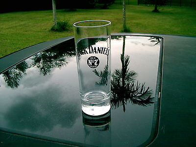 Jack Daniel's Old No.7 Brand Logo 6 5/8 Round Bottom Tall Tumbler  Glass