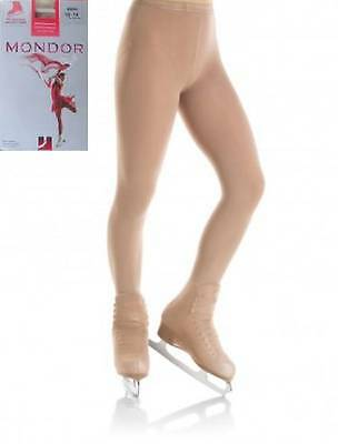 NEW Mondor 3350 Over Boot Ice or Roller Skating Dress Tights - ADULTS