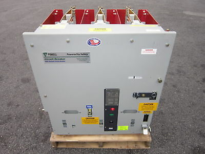 Powell Electrical NEW 1200 Amp 5 KV 05PV36STDX-2 Vacuum Circuit Breaker PowlVac