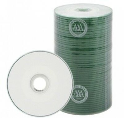 500 Spin-X 24x MINI CD-R Blank Media 22Min 193MB White Inkjet Hub