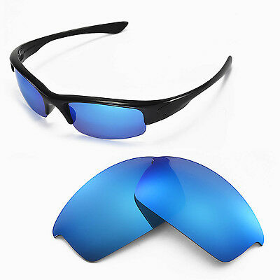 New Walleva Polarized Ice Blue Replacement Lenses For Oakley Bottlecap Sunglasse