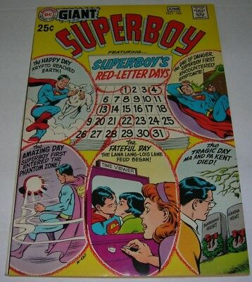 SUPERBOY #165 (DC Comics 1970) GIANT! Reprints 1st app KRYPTO THE SUPERDOG (FN+)