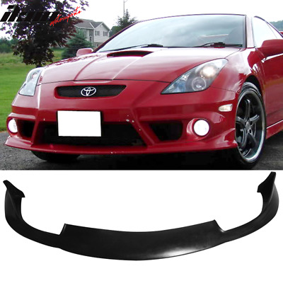 00-02 Toyota Celica JDM Front Bumper Lip Spoiler PU Poly Urethane Body Kit