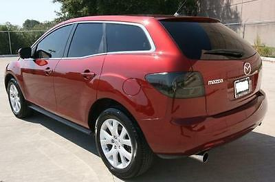 07-12 Mazda Cx7 Smoke Tail Light Precut Tint Cover Smoked Overlays