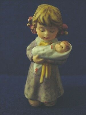 NEW Berta Hummel Goebel Lullaby Dolly Girl Figurine Collectible Free Shipping