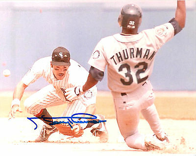 Gary Thurman Seattle Mariners Autographed Signed 8X10 Photo W/coa