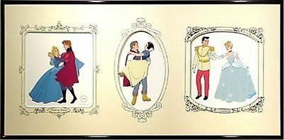 S/O Royal Couples Disney Limited Sericel Cinderella Snow White Sleeping Beauty