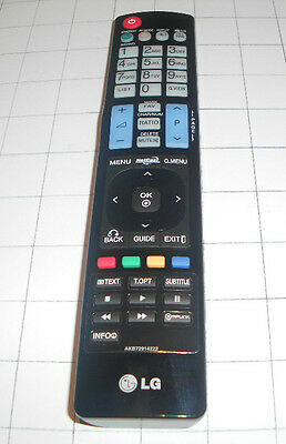 LG TV REMOTE CONTROL pn/ AKB72914222 SUITS TV MODEL 32LDS60 AND OTHERS