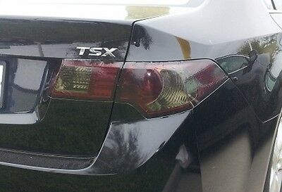 09-14 Acura Tsx Smoke Tail Light Precut Tint Cover Smoked Overlays