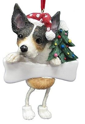 Rat Terrier  ~ Dangling Ornament # 92