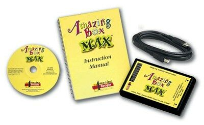 Amazing Designs MAX EMBROIDERY TRANSFER BOX & SOFTWARE Brother Baby Lock Bernina