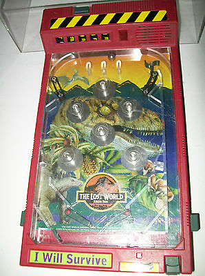 THE LOST WORLD JURASSIC PARK COLLECTIBLE PINBALL GAME USED FREE USA SHIPPING