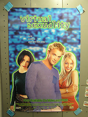 VIRTUAL SEXUALITY Video Poster- FRASER/PENRY-JONES (ITCPO-1090)