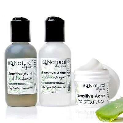 SENSITIVE ACNE | Cleanse Tone Moisturize | Anti Aging Wrinkle Repair SKIN CARE