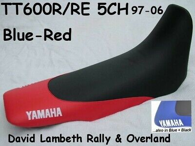 NEW Yamaha TT600 R RE TTR600 5CH Seatcover Coprisella Sitzbezug Housse de Selle