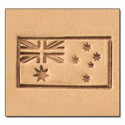 Australia Flag 3D Stamp 8577-00 by Tandy Leather Craftool