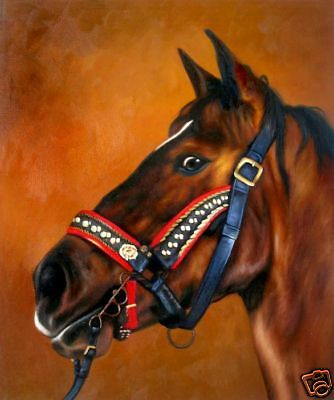 """High Quality Oill Painting """"Horse Portrait #164"""" 24x20"""