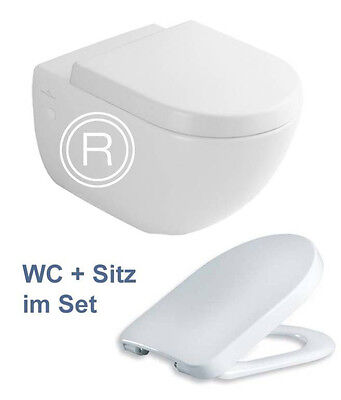 villeroy boch subway wand wc sitz bidet im set eur. Black Bedroom Furniture Sets. Home Design Ideas