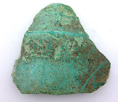 42.2 Grams Chrysocolla Arizona Slice SlabCab Cabochon Gemstone Gem Rough B20A104