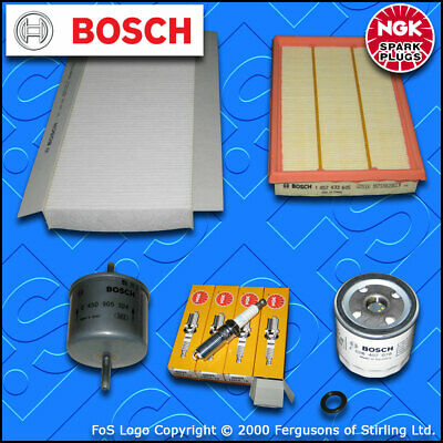 SERVICE KIT for FORD FIESTA MK4 1.25 16V OIL AIR FUEL CABIN FILTERS PLUG (95-99)