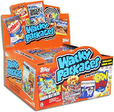 Topps WACKY PACKAGES 2012 ALL NEW SERIES 9 FACTORY SEALED HOBBY BOX