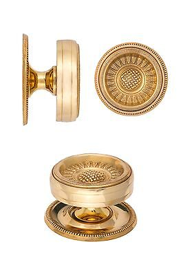 Federal wrought brass furniture drawer pull reproduction nathaniel russel