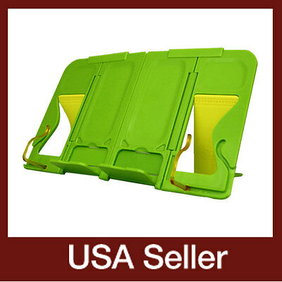 mySmartStand-Green/ Portable book stand  holder / Palm-sized book stands holders