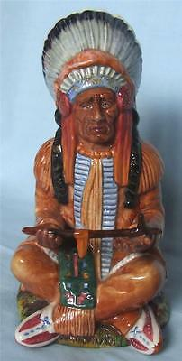 """Royal Doulton  Character Figurine """"the Chief"""" Hn2892 1979-1988"""