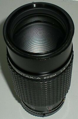 CAMERA PHOTOGRAPHY LENS SMC PENTAX A ZOOM 1:4-5.6 70-210MM 49MM