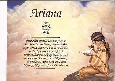 Personalized Name Meaning Native American Gift Nice Daughter Granddaughter Gift