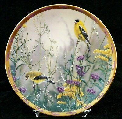 "LENOX ""GOLDEN SPLENDOR"" by Catherine McClung1992 Collector Plate A02"
