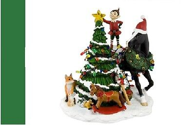 Trail of the Painted Ponies - WOODLAND CHRISTMAS CENTERPIECE ~ 1E/SALE
