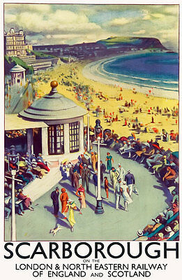 TT15 Vintage Boston Lincolnshire LNER Railway Travel Poster Print A3 A2 Re-print